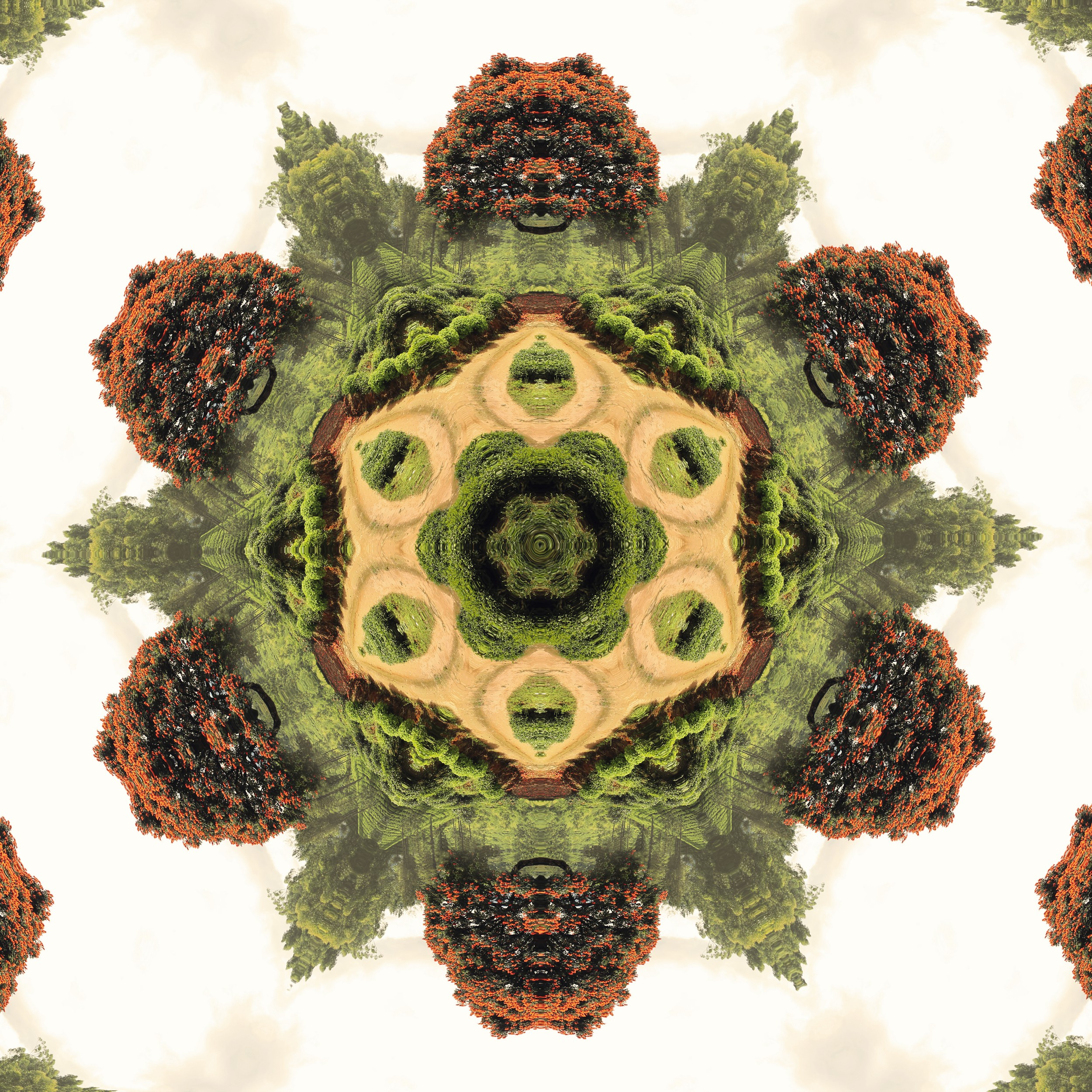 Create a magical kaleidoscopic image out of an ordinary photo