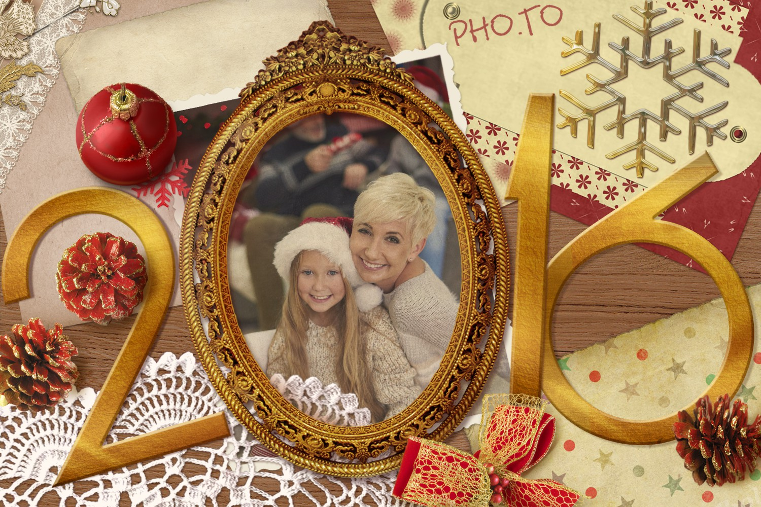 Create A Personalized New Year Photo E Card Template