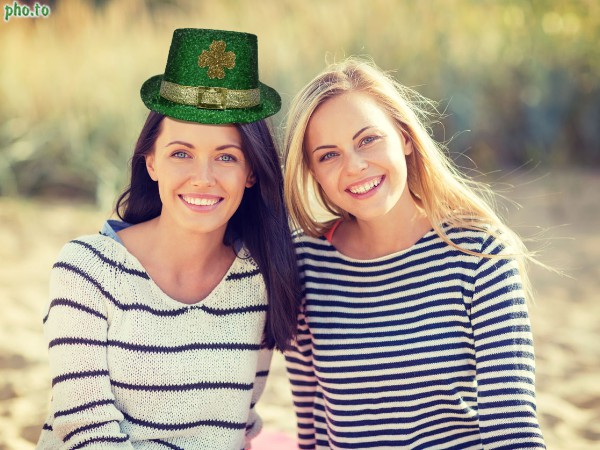 Send St Patrick's Day card to your friend with his or her photo