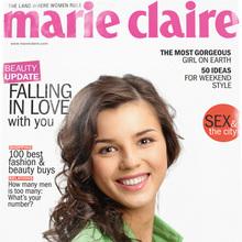 Portada de Revista Marie Claire