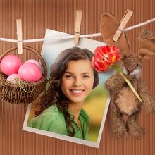 Lindo Conejo de Pascua