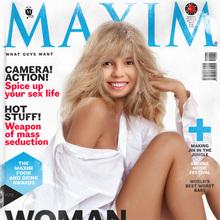 Portada de Revista Maxim