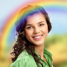 Rainbow Photo Effect