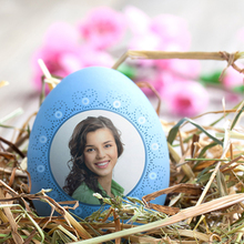 Easter Egg Photo Card