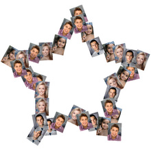 Star Shaped Collage