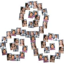 Collage con Forma de Espiral