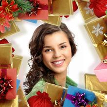 Weihnachtsgeschenke Rahmen