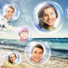 Bubbles on the Beach