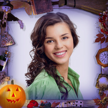 Halloween Night Photo Frame